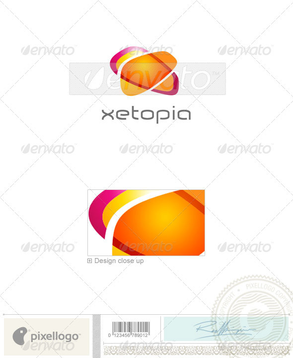 Print & Design Logo - 1618 - Vector Abstract