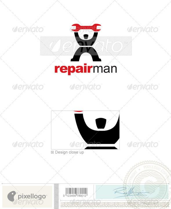 Home & Office Logo - 2193 - Humans Logo Templates