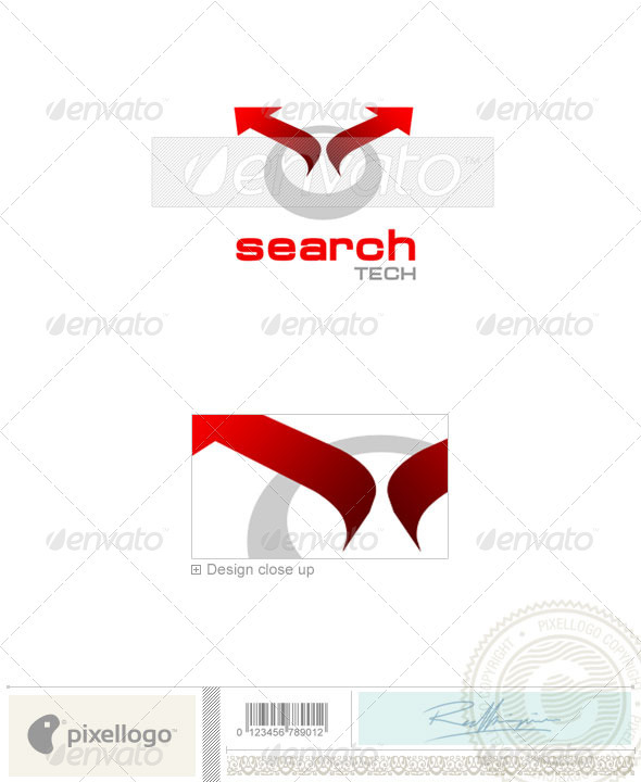 Technology Logo - 1081 - Vector Abstract