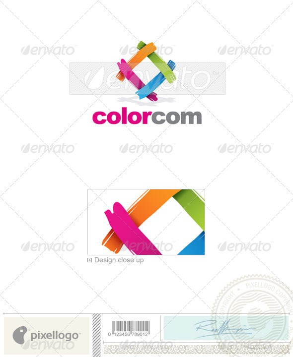 Print & Design Logo - 1832 - Vector Abstract