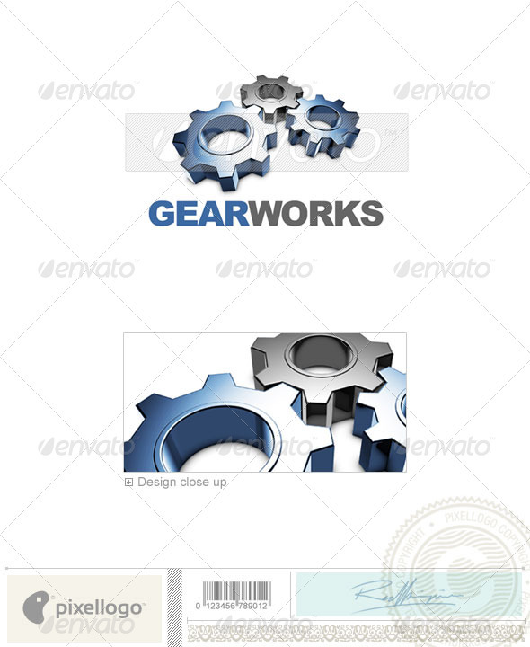 Print & Design Logo - 3D-441 - 3d Abstract