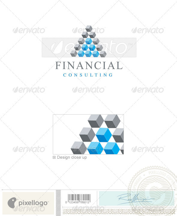 Business & Finance Logo - 301 - Vector Abstract