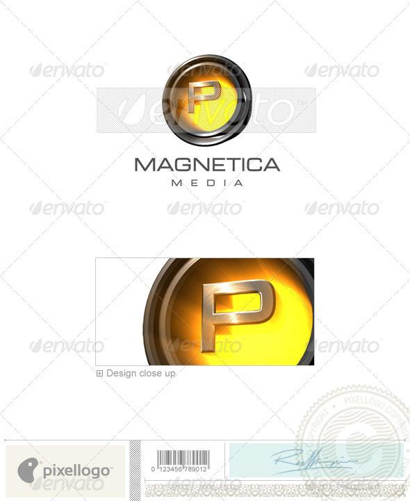 P Logo - 3D-238-P - Letters Logo Templates
