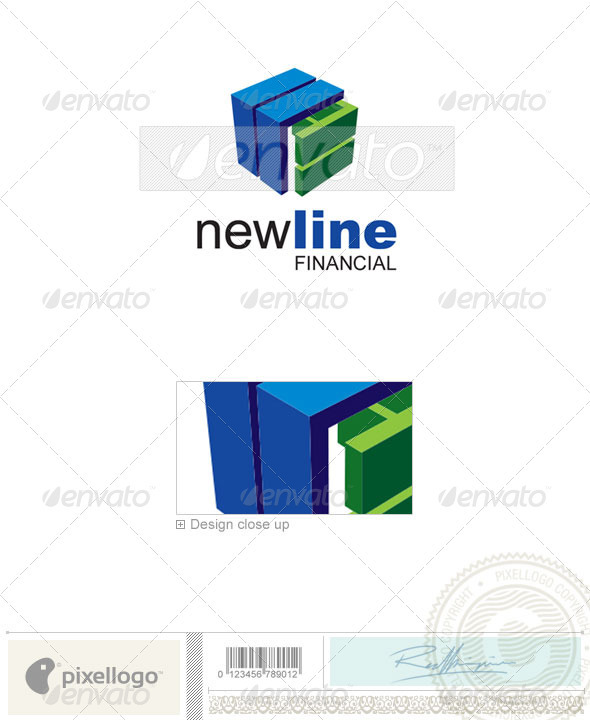 Business & Finance Logo - 2186 - Vector Abstract