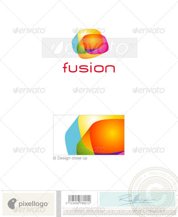 Print & Design Logo - 1568 - Vector Abstract
