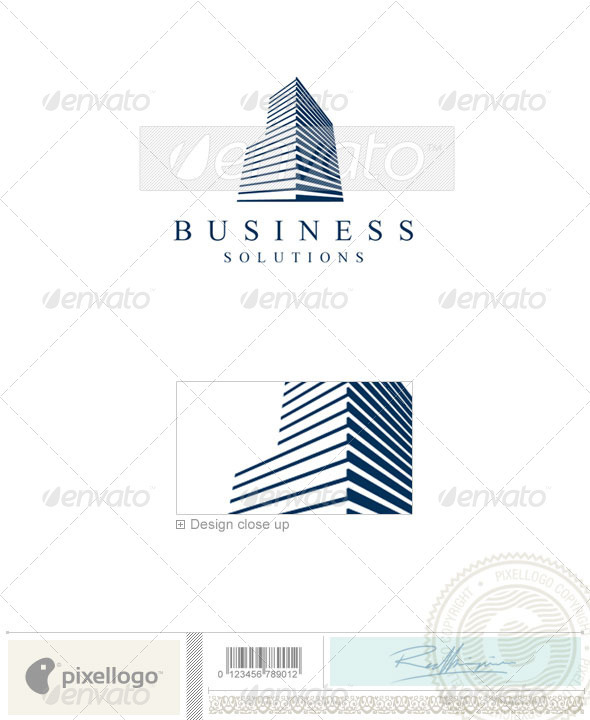 Home & Office Logo - 1168 - Buildings Logo Templates
