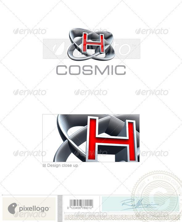 H Logo - 3D-348-H - Letters Logo Templates