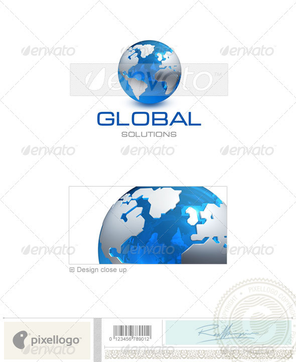 Communications Logo - 3D-237 - 3d Abstract