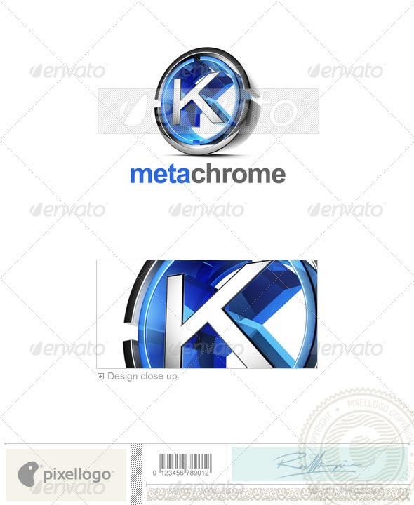 K Logo - 3D-476-K - Letters Logo Templates