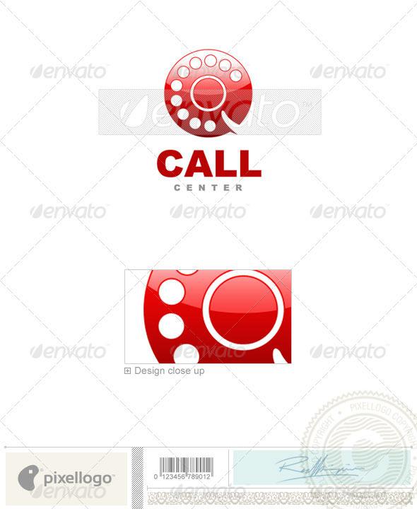 Communications Logo - 398 - Objects Logo Templates