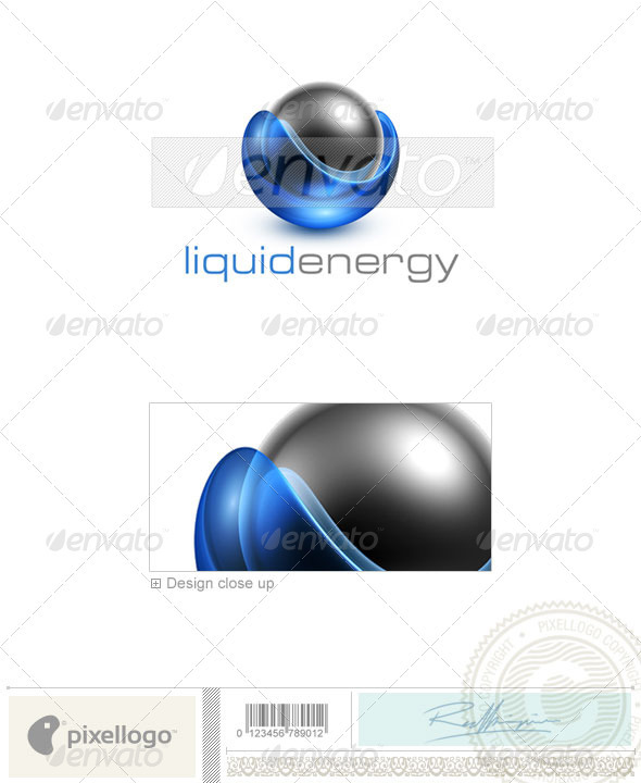 Communications Logo - 3D-451 - 3d Abstract