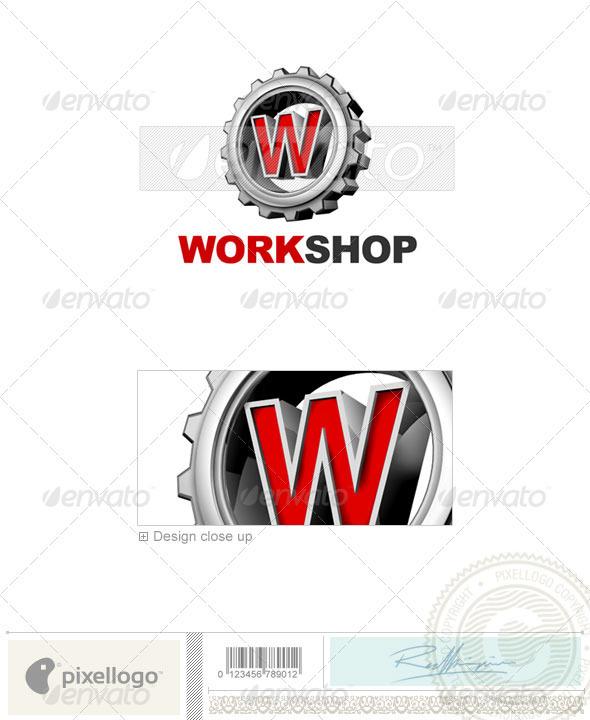 W Logo - 3D-292-W - Letters Logo Templates