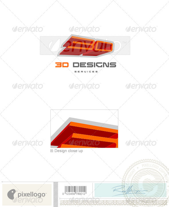 Print & Design Logo - 192 - Vector Abstract