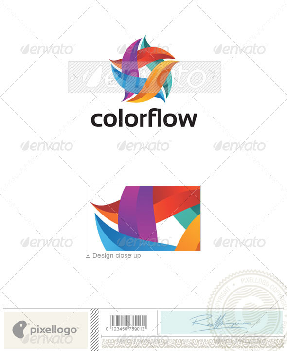 Print & Design Logo - 2215 - Vector Abstract