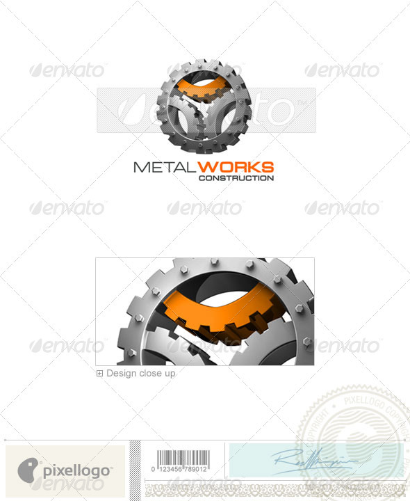 Home & Office Logo - 3D-178 - 3d Abstract