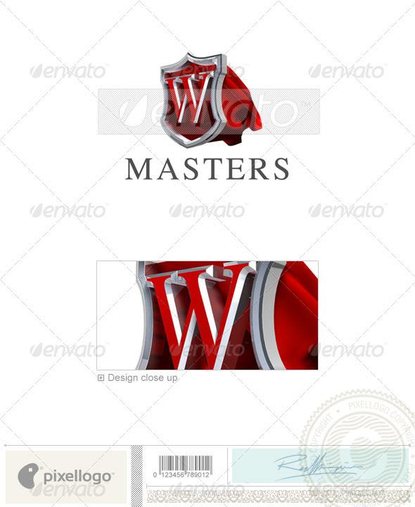 W Logo - 3D-259-W - Letters Logo Templates