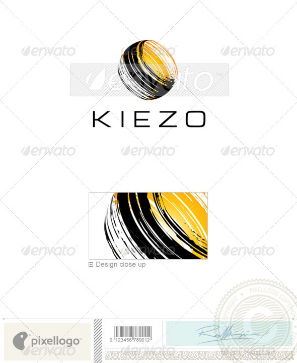 Print & Design Logo - 1977 - Vector Abstract