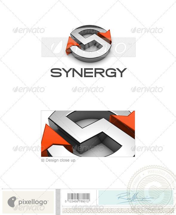 Technology Logo - 3D-676 - 3d Abstract