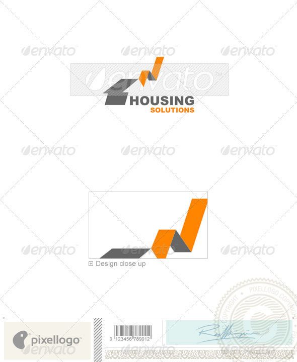 Home & Office Logo - 645 - Buildings Logo Templates