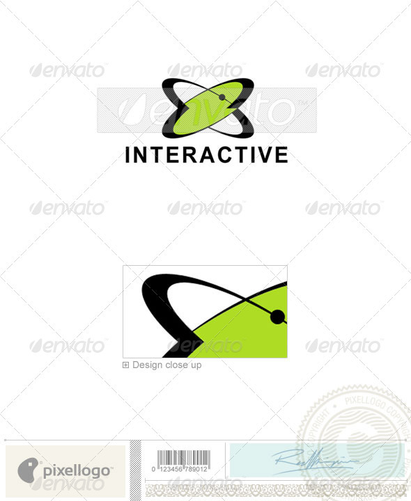 Communications Logo - 602 - Vector Abstract