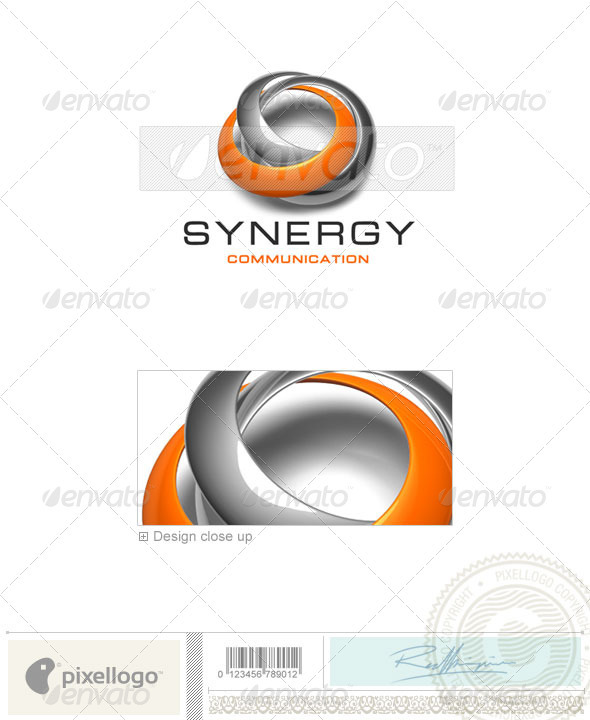 Communications Logo - 3D-429 - 3d Abstract
