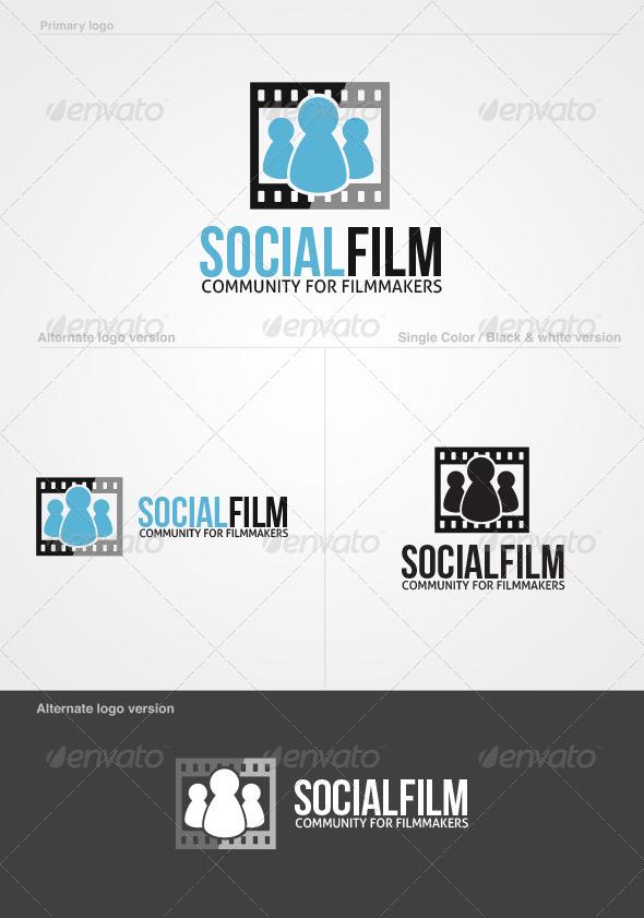 SocialFilm Logo Template - Symbols Logo Templates