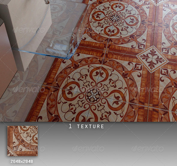 Professional Ceramic Tile Collection C047 - 3DOcean Item for Sale