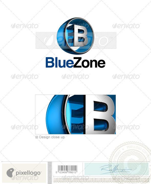 B Logo - 3D-438-B - Letters Logo Templates