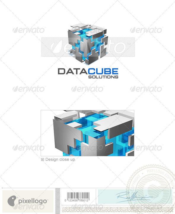Technology Logo - 3D-341 - 3d Abstract