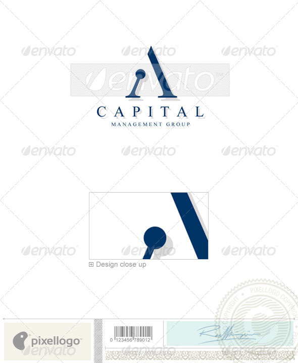 Business & Finance Logo - 204 - Letters Logo Templates