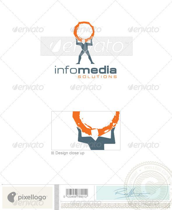 Home & Office Logo - 1673 - Humans Logo Templates