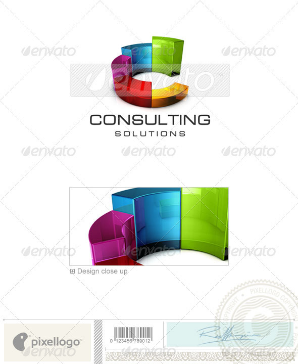 Business & Finance Logo - 3D-482 - 3d Abstract