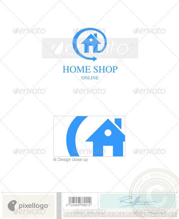 Home & Office Logo - 512 - Buildings Logo Templates
