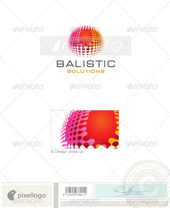 Print & Design Logo - 1918 - Vector Abstract