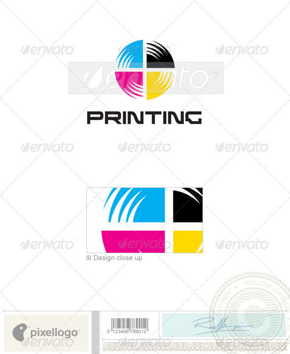 Print & Design Logo - 236 - Vector Abstract
