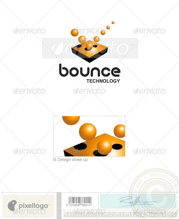 Technology Logo - 1462 - Vector Abstract
