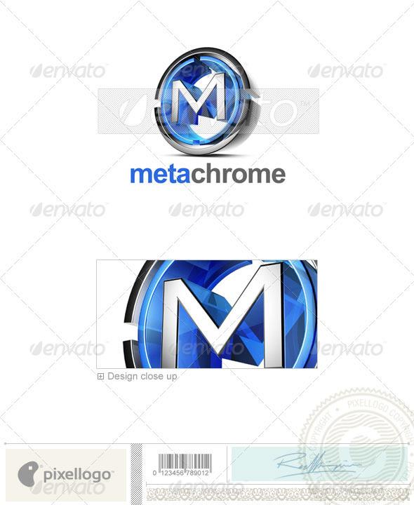 M Logo - 3D-476-M - Letters Logo Templates