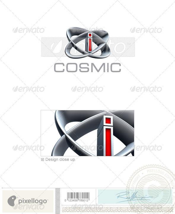 I Logo - 3D-348-I - Letters Logo Templates