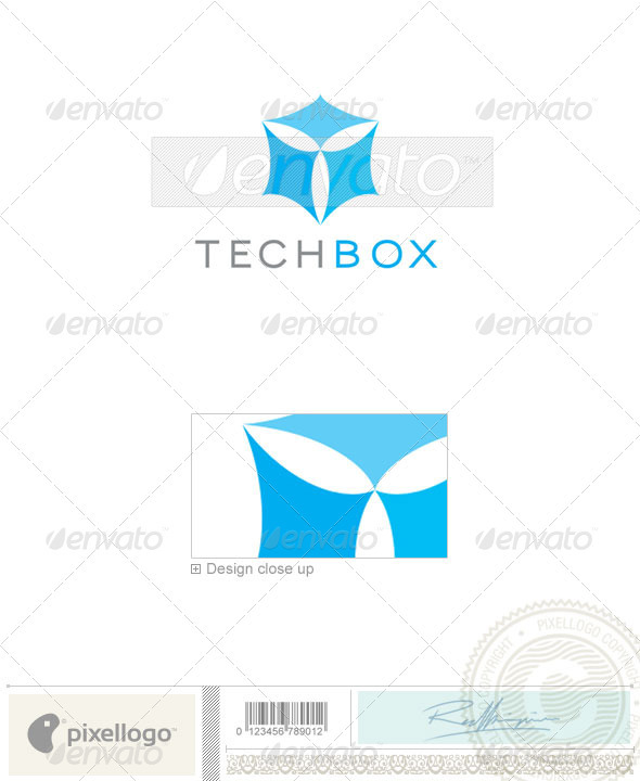 Technology Logo - 119 - Vector Abstract