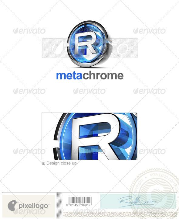 R Logo - 3D-476-R - Letters Logo Templates