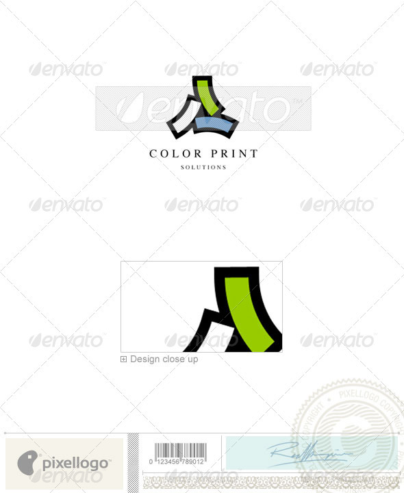 Print & Design Logo - 660 - Vector Abstract