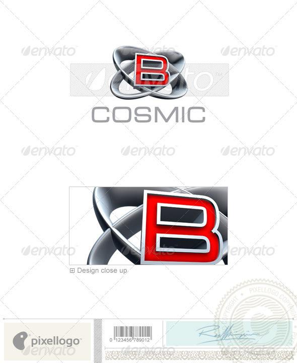 B Logo - 3D-348-B - Letters Logo Templates