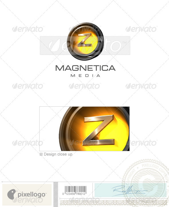 Z Logo - 3D-238-Z - Letters Logo Templates