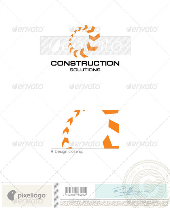 Communications Logo - 13 - Vector Abstract