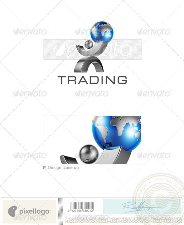 Business & Finance Logo - 3D-406 - 3d Abstract