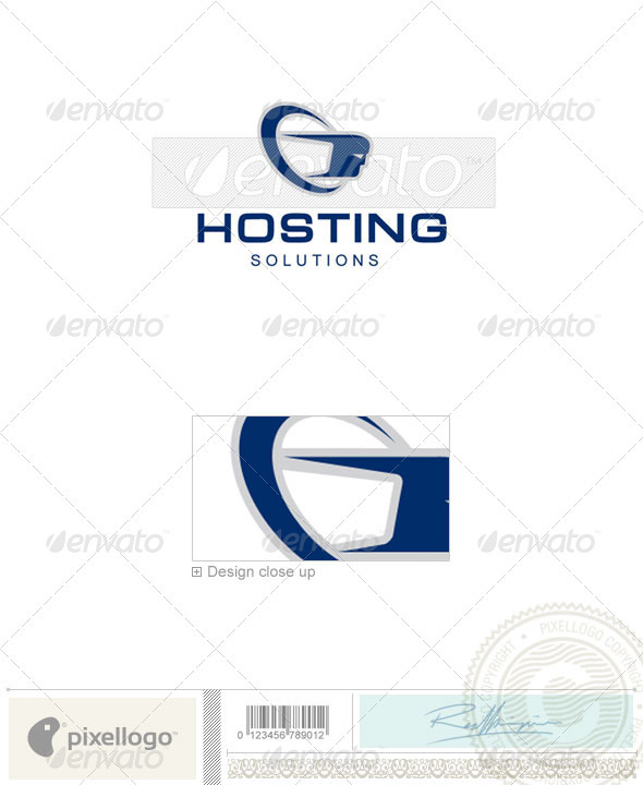 Technology Logo - 776 - Vector Abstract