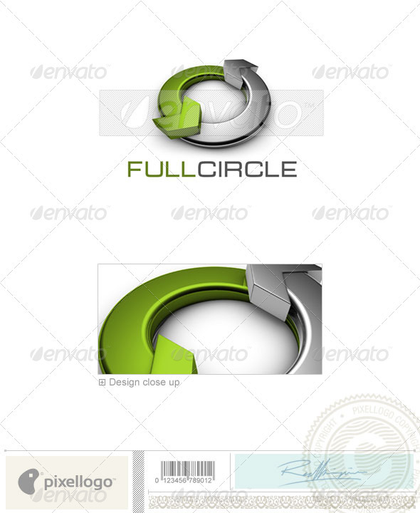 Communications Logo - 3D-480 - 3d Abstract