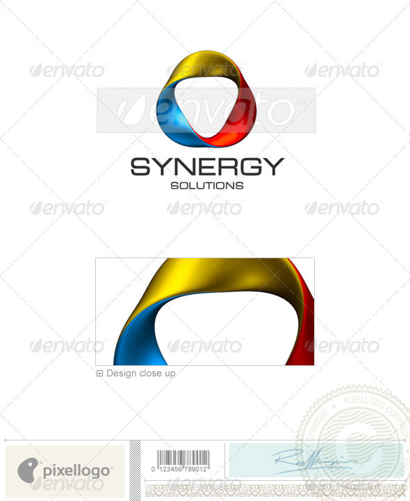 Print & Design Logo - 3D-380 - 3d Abstract