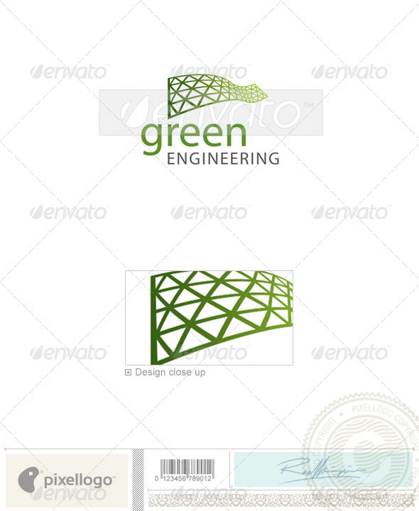 Industry & Science Logo - 2061 - Vector Abstract
