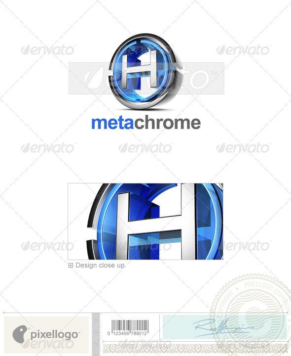 H Logo - 3D-476-H - Letters Logo Templates